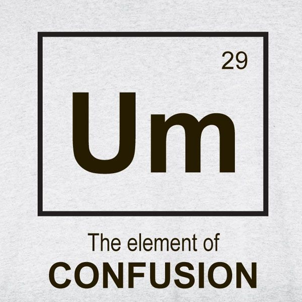 element of confusion tee Misconceptions in Exercise and Stress
