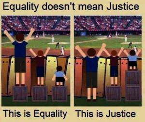 equality vs justice 300x253 Audio Ammunition