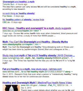 Obesity Study 274x300 Obesity   How the Media Misleads You