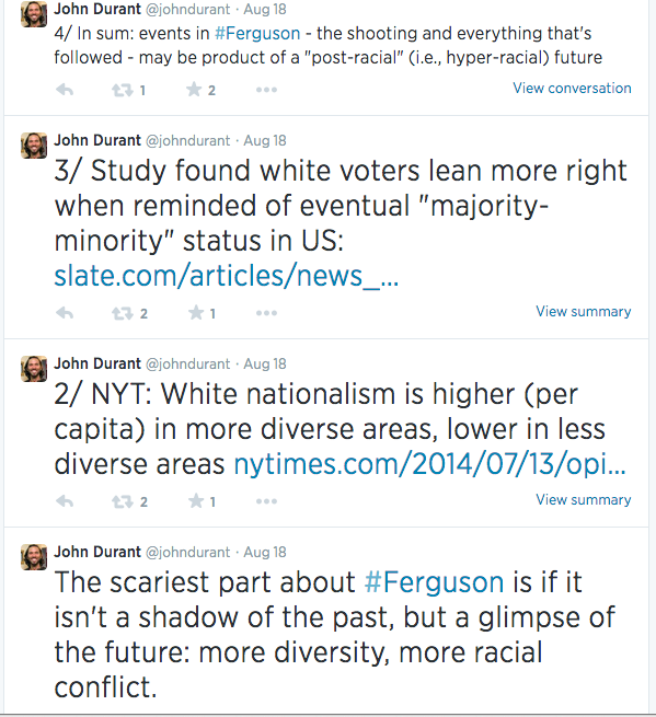 Durant Racism paleo AHS paleofx ferguson The Paleo Problem with Racism and Sexism