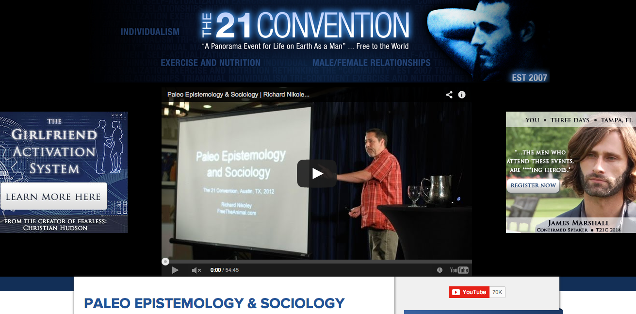 Paleo 21Convention Nikoley AHS primal ancestral The Paleo Problem with Racism and Sexism