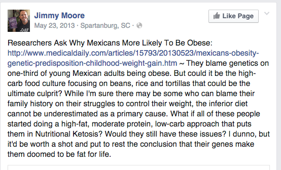 Paleo JM MExico The Paleo Problem with Racism and Sexism