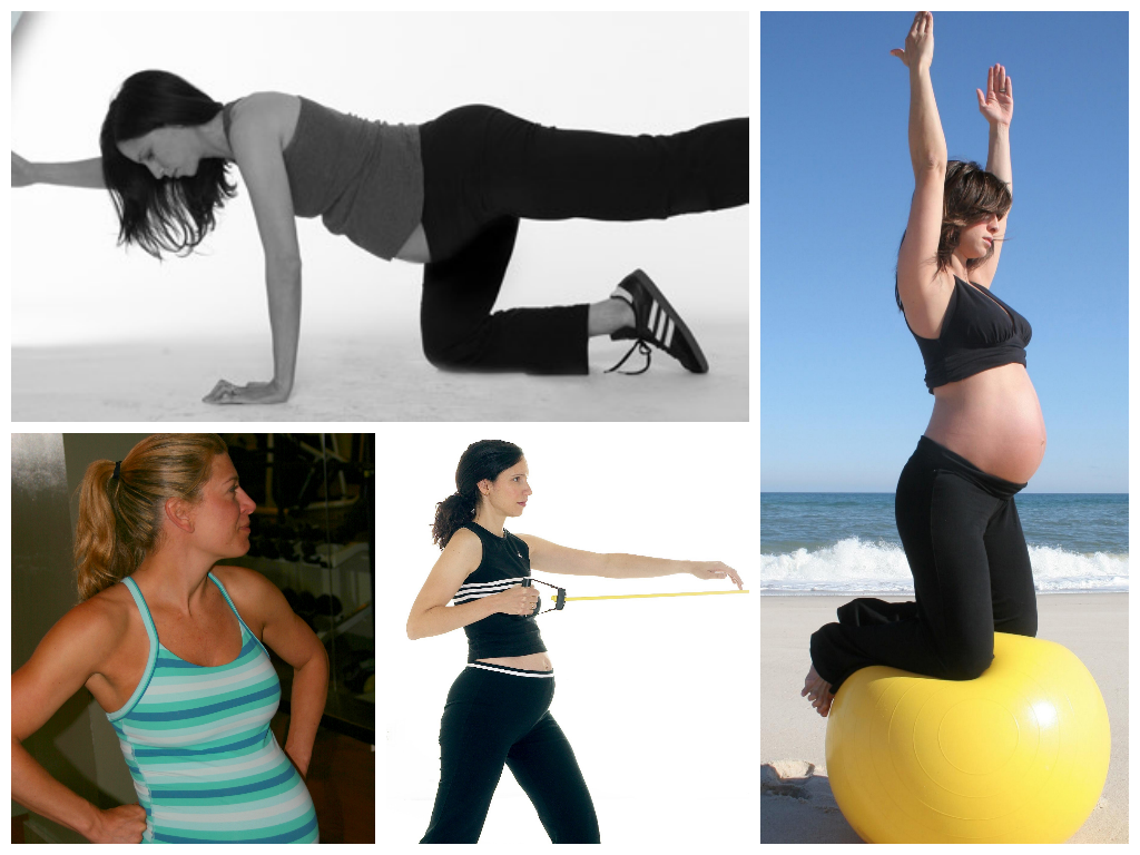 Preggers collage3 Pregnancy Fitness