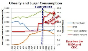 Sugar Consumption and Obesity  300x176 25 Things You Should Know About Sugar